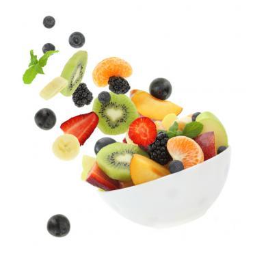 Zdrowy kubek Owoce